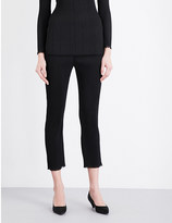 By Malene Birger Ralano cropped pleated trousers