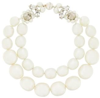 Simone Rocha Double Faux-Pearl Bracelet