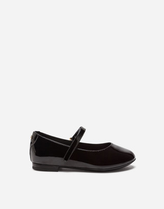 Dolce & Gabbana Leather Ballet Flats