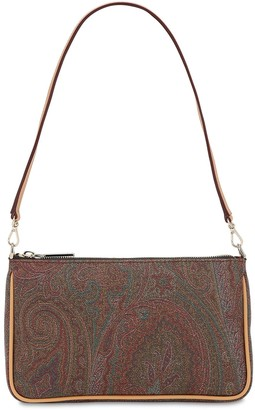 Etro Paisley Print Coated Cotton Bag