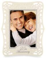 Lenox 25th Anniversary 5-Inch x 7-Inch Picture Frame