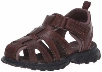 Carter's Boys' Douglas Hook and Loop Fisherman Sandal