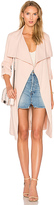 Soia & Kyo Ornella Trench in Pink