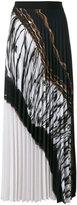 D-Exterior D.Exterior - pleated maxi skirt - women - Polyester/Spandex/Elastane - 48