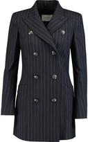 Pierre Balmain Pinstriped wool-blend blazer