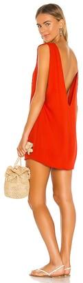 Indah Pella Plunge Mini Dress