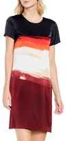 Vince Camuto Women's Brushstroke Horizons Dress