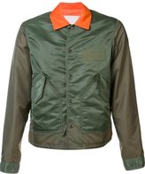 Comme des Garcons elasticated cuffs jacket - men - Polyester/Nylon - S