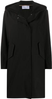 Harris Wharf London Concealed Zip Coat