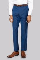 DKNY Slim Fit Electric Blue Tonic Twill Trousers