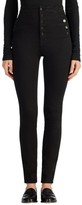 J Brand Natasha Sky High Skinny in Seriously Black