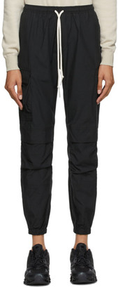 John Elliott Black Poplin Lounge Pants