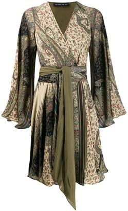 Etro paisley printed kaftan dress