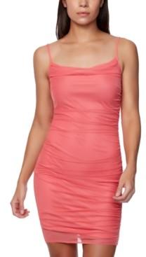 Bebe Juniors' Ruched Slip Dress