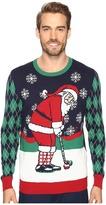 Travis Mathew TravisMathew Golfing Santa Sweater