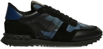 "Valentino ROCK RUNNER"" LEATHER SNEAKERS"