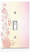 Baby Swan Light Switch Plate