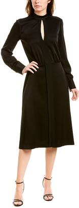 Jason Wu Satin Midi Dress
