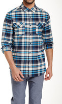 Micros Lassen Plaid Long Sleeve Regular Fit Shirt