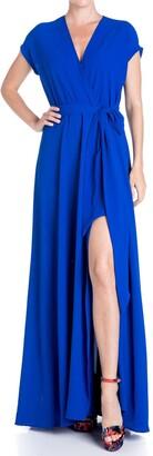 Meghan La Jasmine Slit Maxi Dress