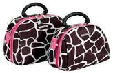 Rockland Luca Vergani 2pc Cosmetic/Toiletry Bag Set