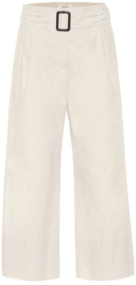 S Max Mara Banda cotton-poplin pants