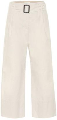 S Max Mara Banda cotton-poplin pants