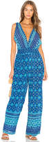 Raga Beach Kissed Jumpsuit in Blue. - size M (also in S,XS)