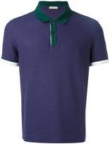 Moncler contrast collar polo shirt - men - Cotton - L