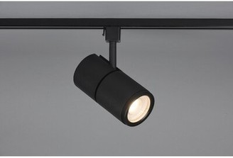 Bruck Lighting Versa LED Track Spotlight Track Head Color: Black/Eco Adapter