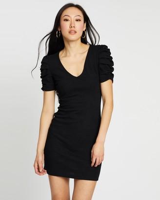 Mng Frunce Dress