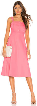 L'Academie The Sabine Midi Dress