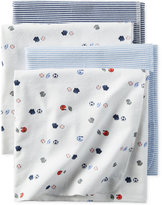 Carter's 4-Pk. Sports-Print Blankets, Baby Boys (0-24 months)