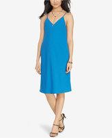 Lauren Ralph Lauren Satin A-Line Dress