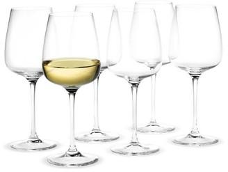 Pottery Barn Holmegaard Bouquet Dessert Wine Glass, Set of 6