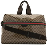 Gucci Pre Owned Shelly Line GG pattern travel bag