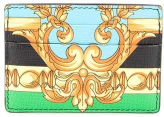 Versace Barocco print card holder