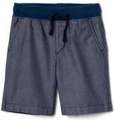 Gap Railroad stripe pull-on shorts
