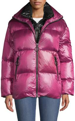 The Very Warm Double Collar Down Puffer