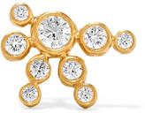 Sophie Bille Brahe Flacon De Neige 18-karat Gold Diamond Earring - R