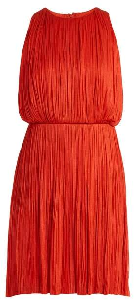 Maria Lucia Hohan Malie Silk Tulle Dress - Womens - Red