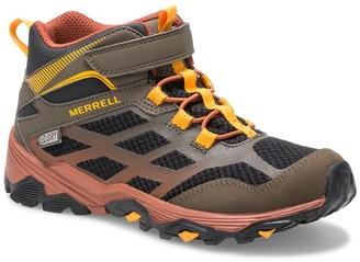 Merrell Moab Fst Mid A/C Waterproof Sneaker (Toddler, Little Kid, & Big Kid)
