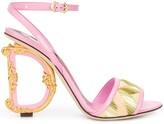 Dolce & Gabbana Baroque 120mm sandals