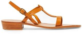 K. Jacques Elina Leather Sandals - Womens - Tan