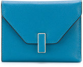 Valextra Iside fold wallet - women - Calf Leather - One Size