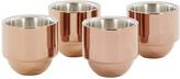 Tom Dixon Brew Copper Espresso Cups - Set of 4