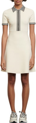 Sandro Paulzy A-Line Knit Dress