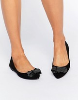Oasis Studded Bow Ballet Pump