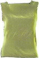 Issey Miyake wave pleat sleeveless top