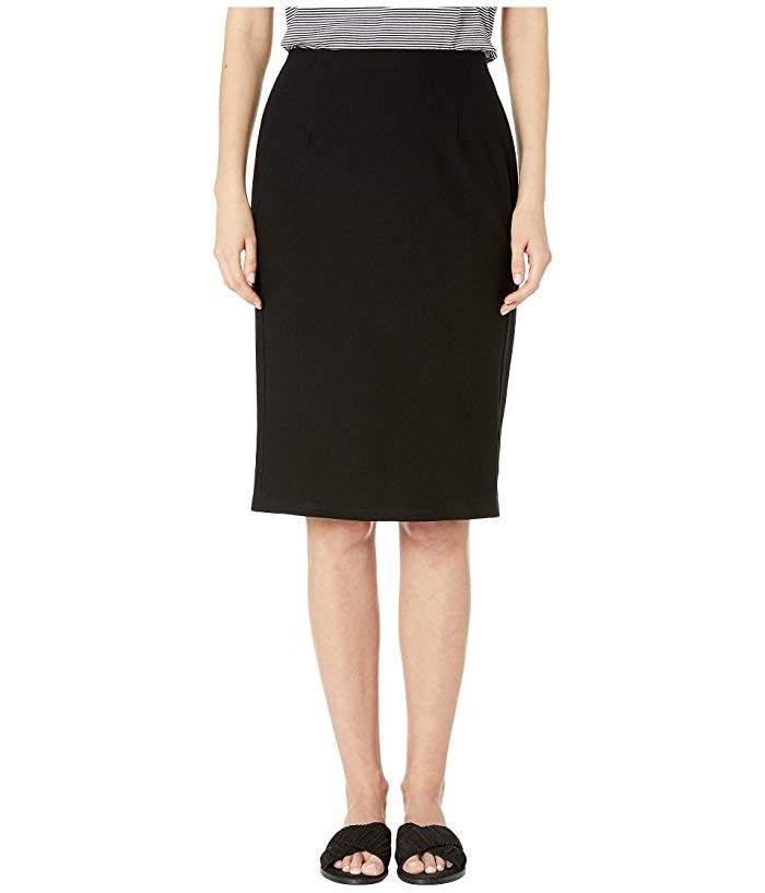 cbf1f170e Black Crepe Pencil Skirt - ShopStyle